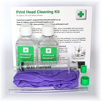 Print Head Cleaning Kit for Canon Printers - 100ml