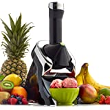 Yonanas Elite la Reine des neiges Sain Dessert Maker – 100% Fruits boules Maker (Noir)