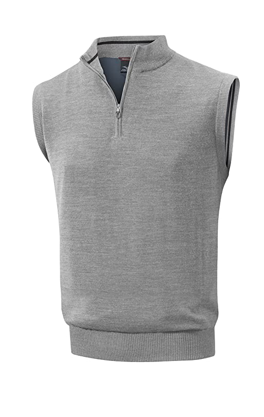 Mizuno Men's Hayate Sweater Vest: Amazon.co.uk: Sports & Outdoors