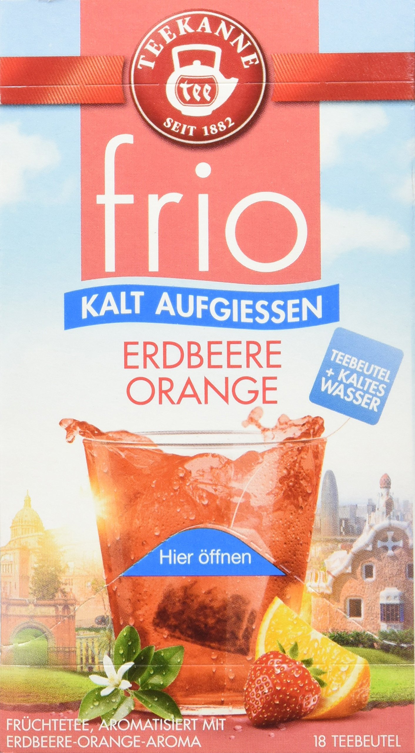 Teekanne-frio-Erdbeere-Orange-5er-Pack-5-x-45-g
