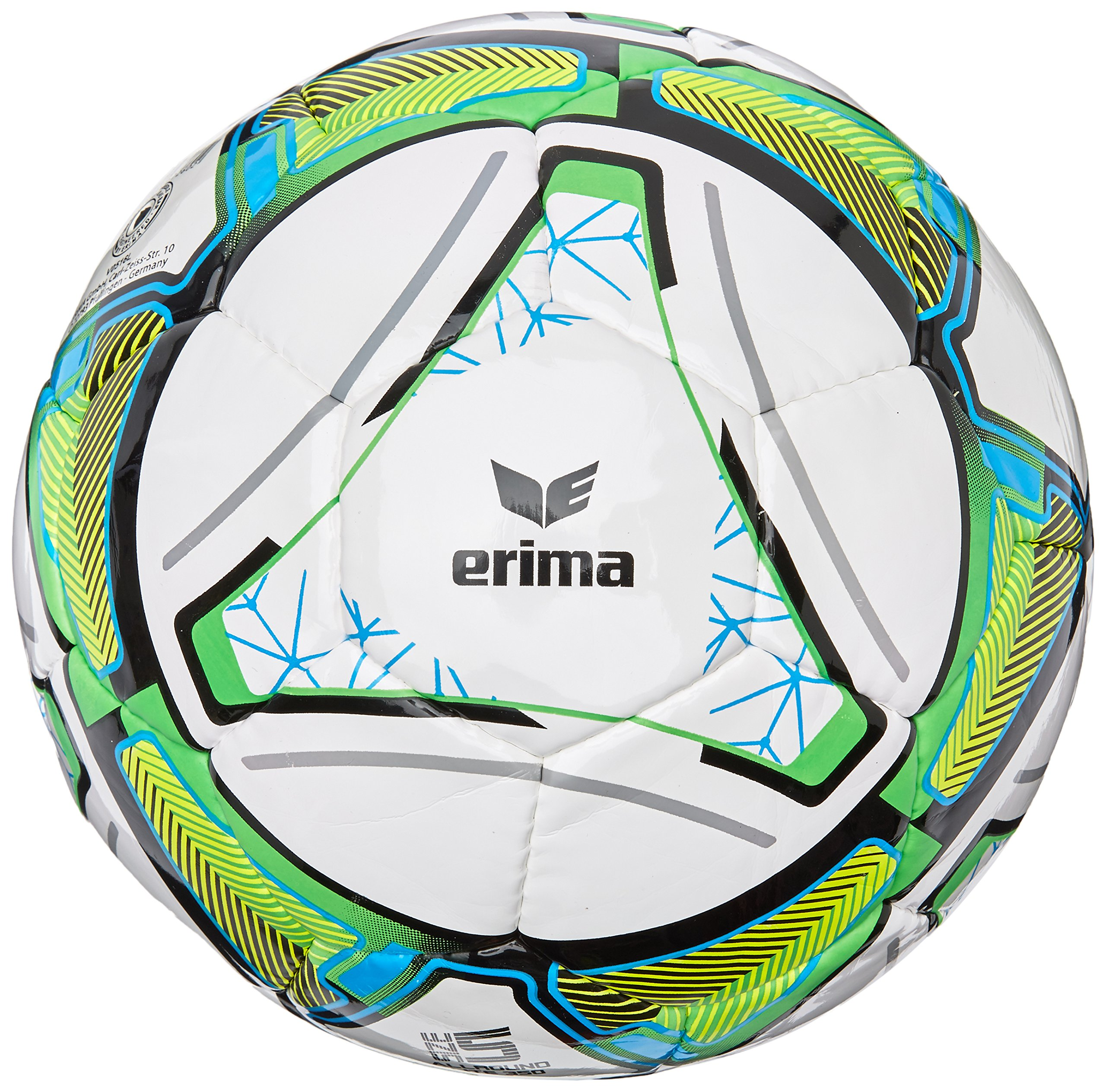 Erima Ball Allround Lite 350, Bianco/Arancio Fluo, 5, 719632