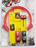 New Pinch Track Racer Car Set for Kids (Multicolor)