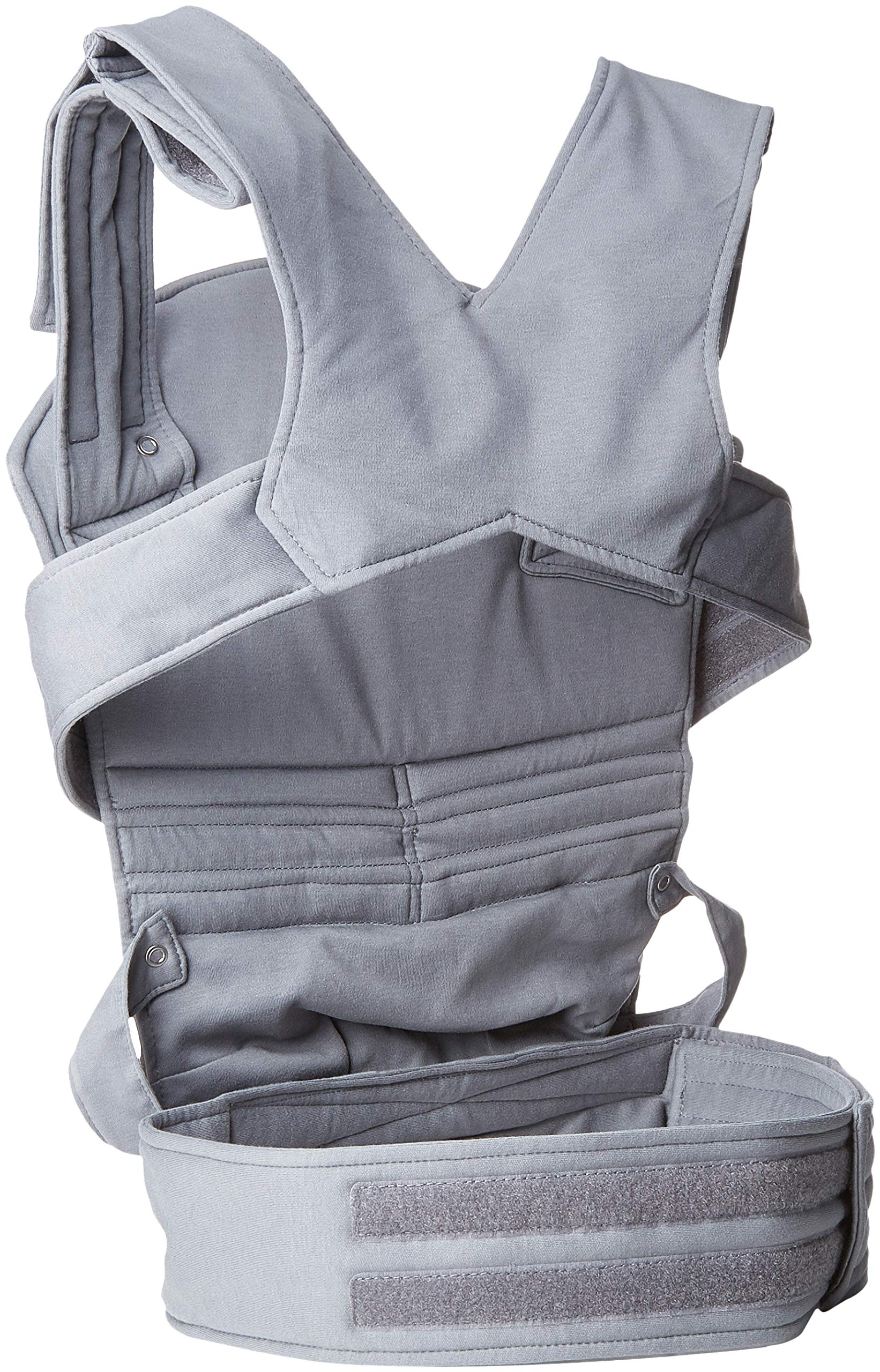 Wallaboo Baby carrier Ease, Hig Quality, Easy Adjustable and Ergonomic Front Carrier, 2 carrying poitions, Strong 100% cotton, Newborn 8lbs to 33lbs, Colour: Grey Wallaboo Ergonomic carrying with wide leg position (m-position) Sturdy waist belt and padded shoulder straps. Age suitability: babies from 3,5kg / 8 lbs to 15kg / 33 lbs. Walla boo baby carrier is made with 100% breathable cotton, makes baby feel comfortable and cozy 2