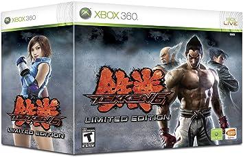 Tekken 6 Limited Edition Wireless Fight Stick Bundle Xbox 360
