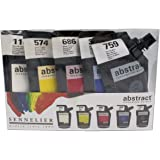 Sennelier Abstract Acrylic Paint Set 5x120ml (Introduction)