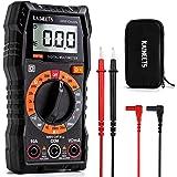 Multimetro Digitale KAIWEETS Tester Portatile MINI TRMS 2000 Conta Tensione CA CC/Corrente CC/Resistenza/Continuità/Diodi, Do
