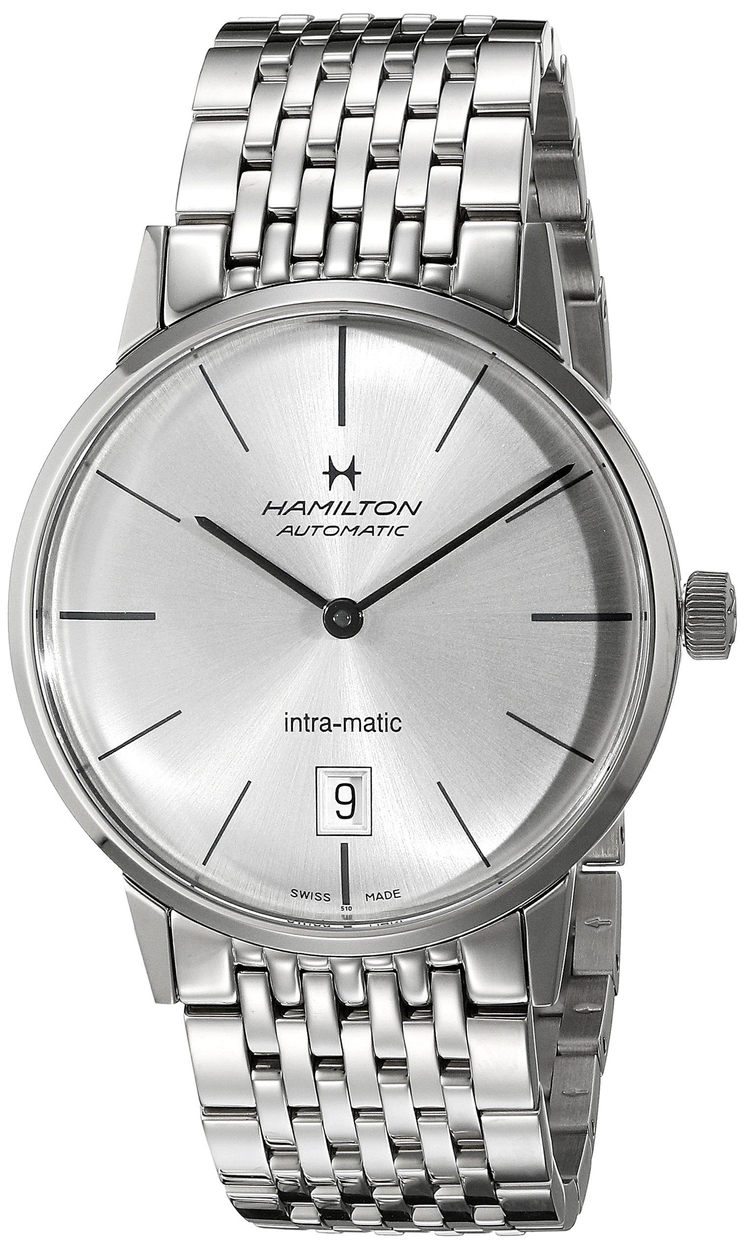 Hamilton Men's H38455151 American Classic Analog Display Swiss Automatic Silver Watch