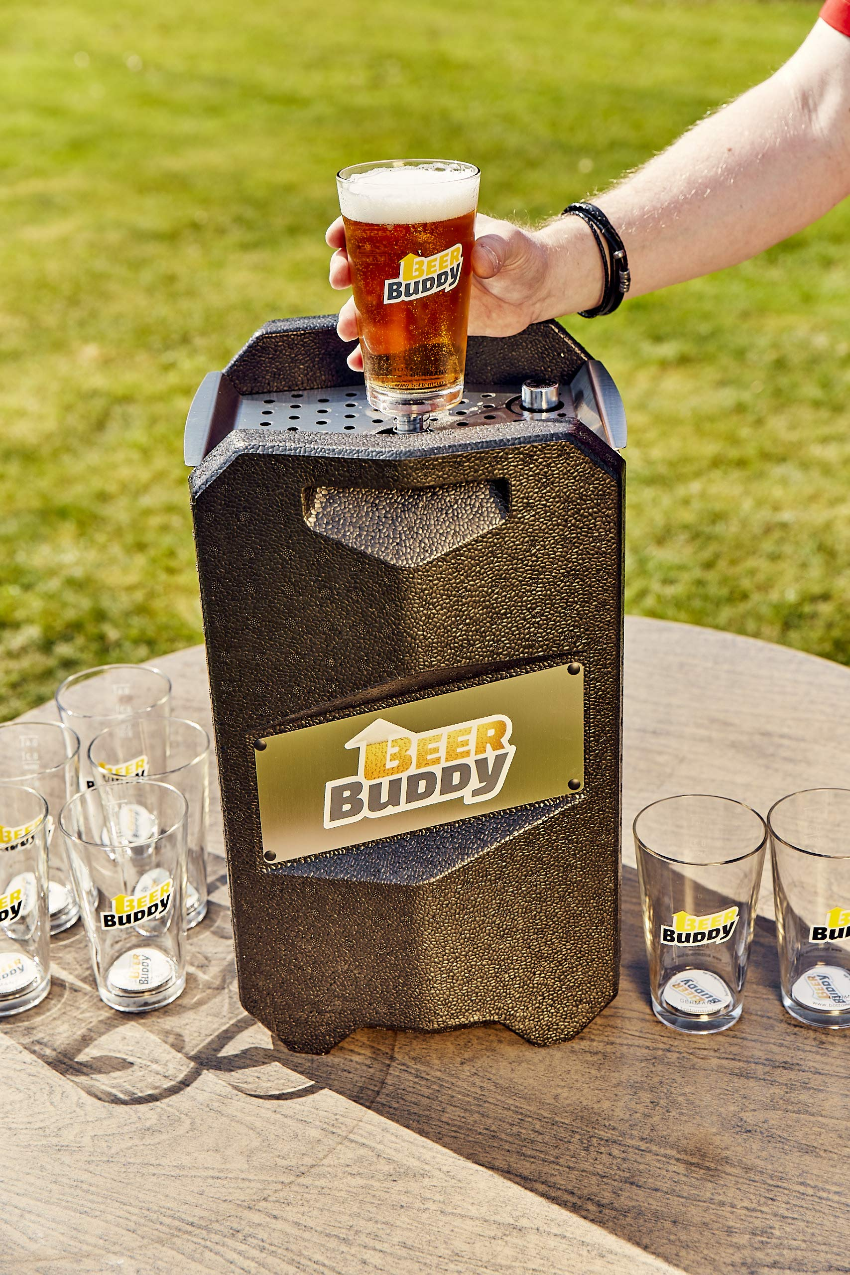 91jBE4aQRPL - Beer Buddy Version 2.0 latest version. Bottoms Up Beer Tap for 5 Litre Party Barrels