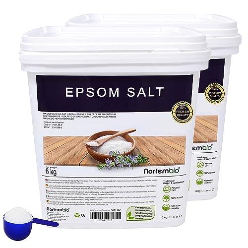 NortemBio Sal de Epsom 2 x 6kg