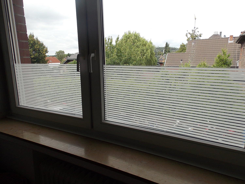 Amazon Milchglas Folie Struktur 122cm breit 8 19€ m² Fenster