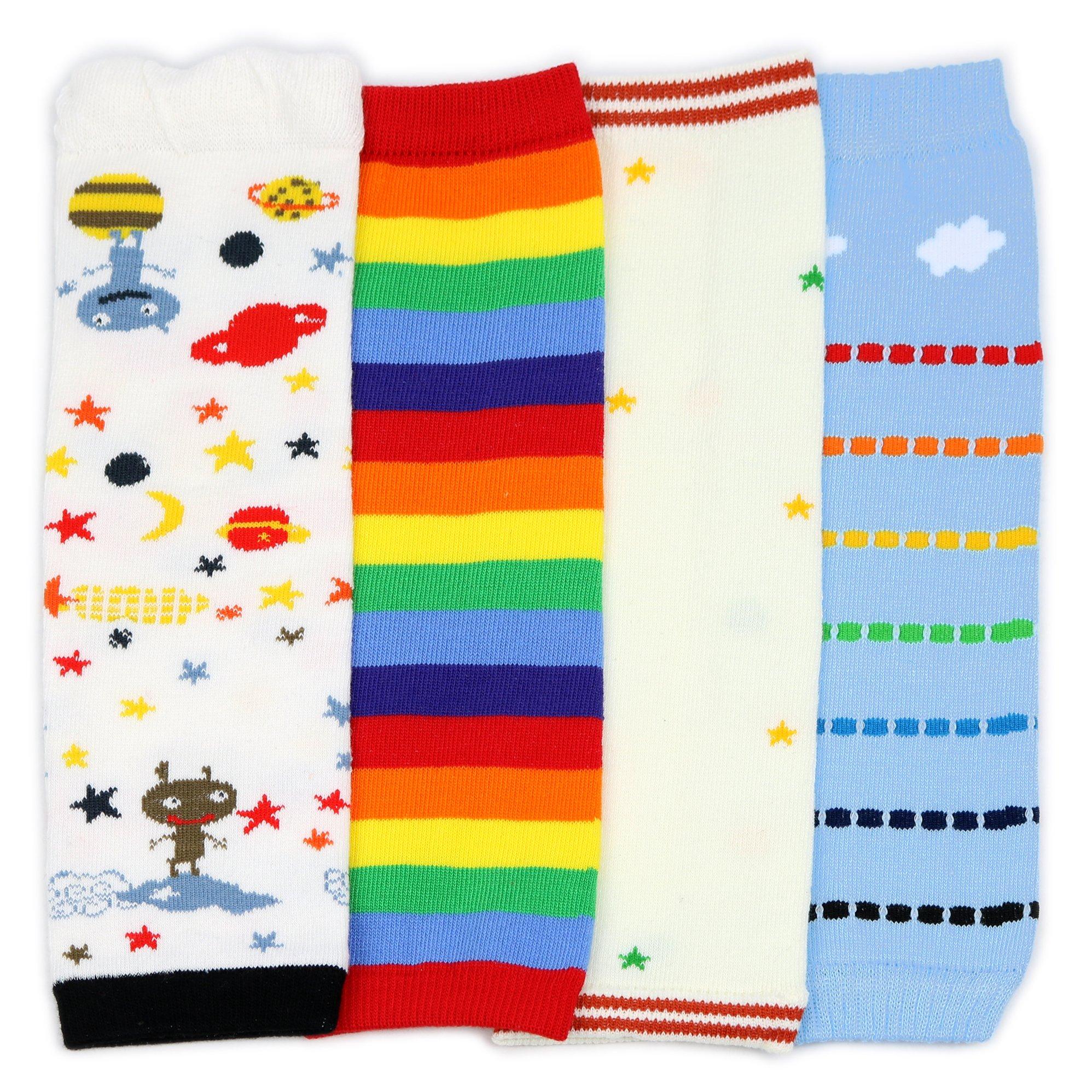 Packs de 4 con dise/ños divertidos y coloridos multipack ni/ño y ni/ño todoterreno Ni/ñas y ni/ños Dotty Fish