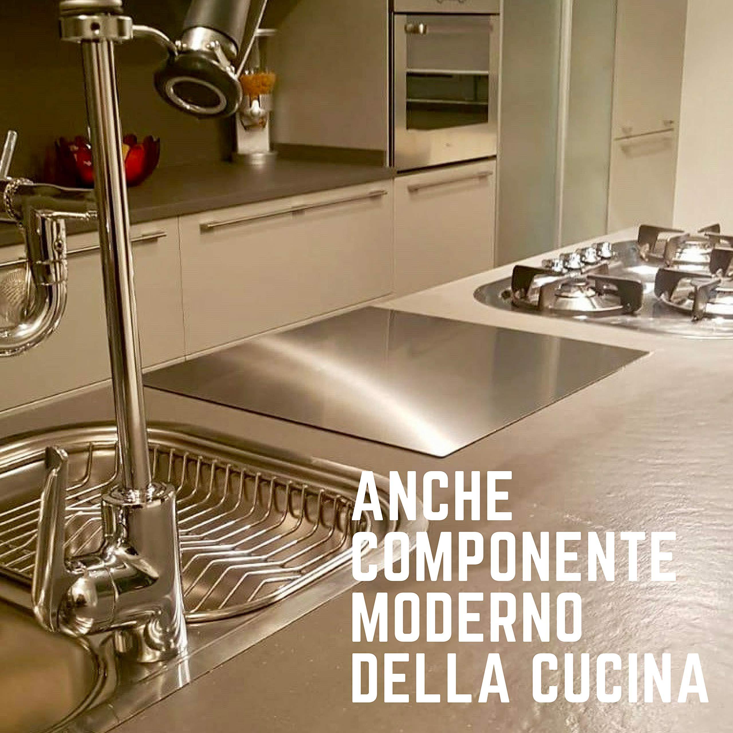 OneClod - Piano Lavoro Cucina Spianatoia Lastra Acciaio Inox ...