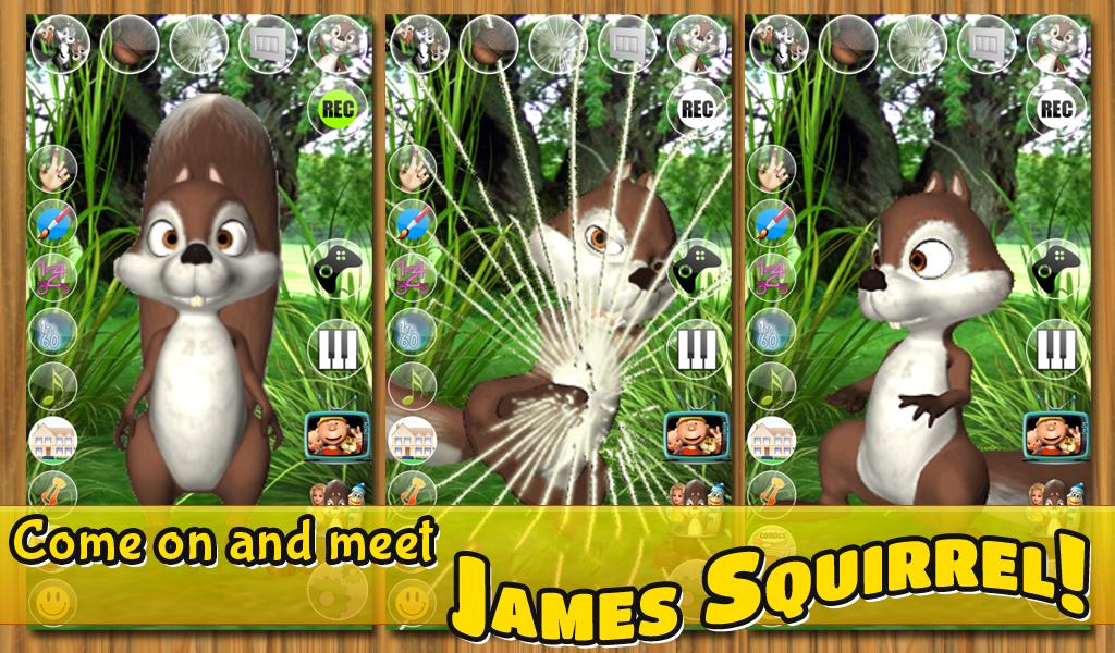 Zoom IMG-1 talking james squirrel free