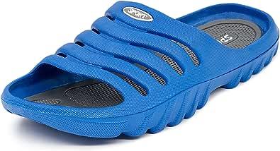LEKANN 919A Men's Slippers, Bath Slippers, Shower & Bath Shoes, Size 40-49 EU