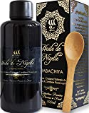 Huile de Nigelle Pure(Ethiopie)100ml et cuillère en bois/Cumin noir/Pureté exceptionnelle/Pression à froid/Sans traitement chimique/Qualité cosmétique et alimentaire/Soins peau-cheveux/Perte poids
