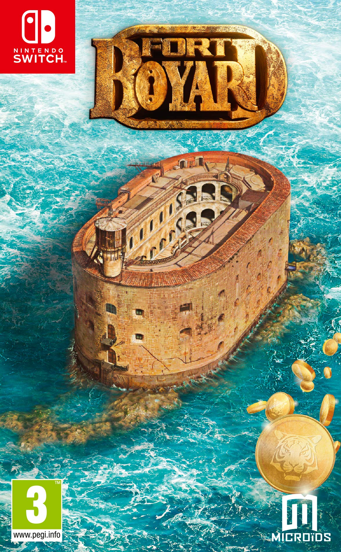 Fort Boyard pour Nintendo Switch PS4 et Xbox ONE