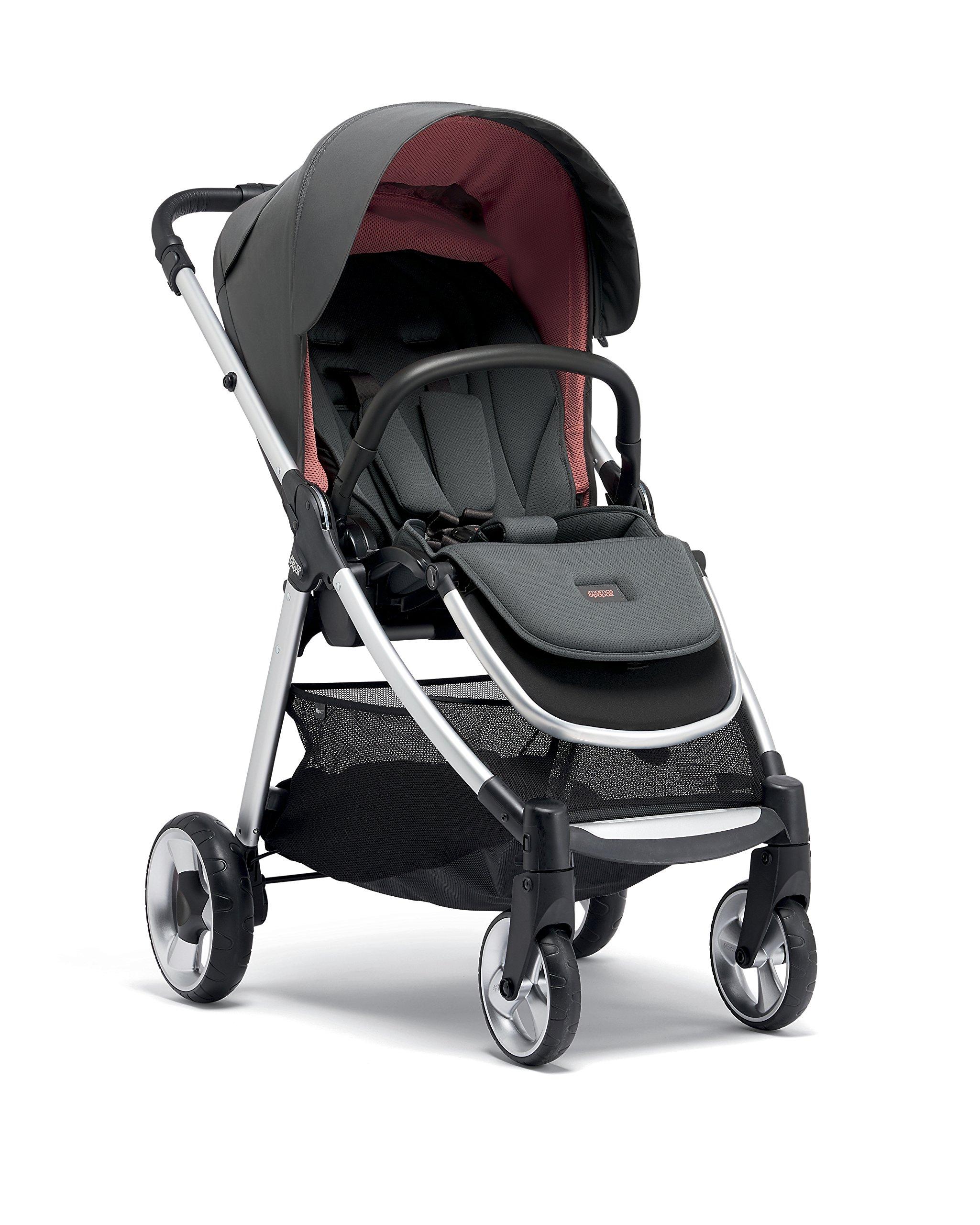 Mamas & Papas Flip XT2 Pushchair, Grey/Coral Mamas & Papas  1
