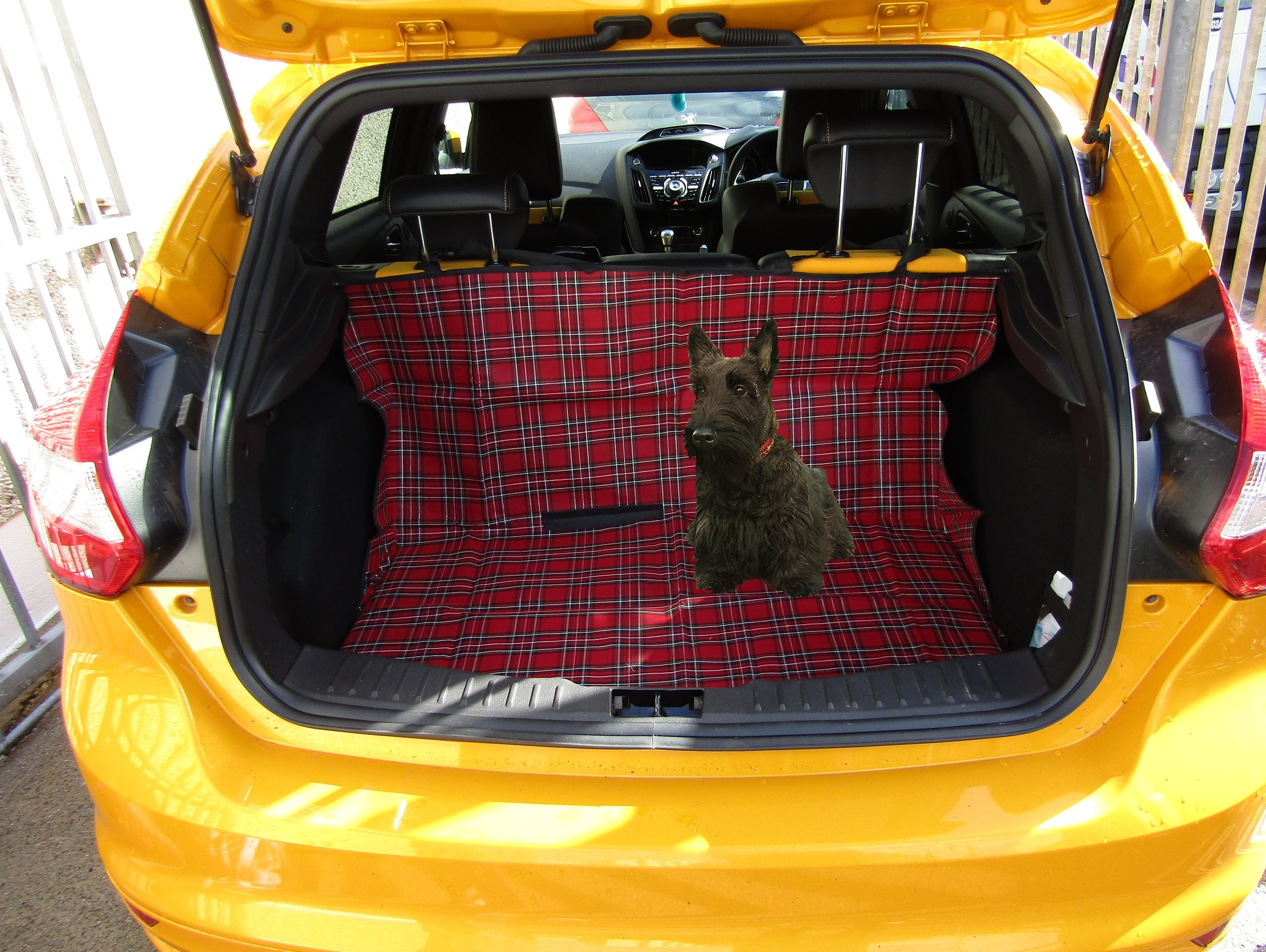 KIA SOUL 2014 ON Heavy Duty 2in1 Boot Liner Seat Pet Protector