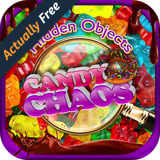 Hidden Object Candy Chaos – Cupcakes, Dessert, Cake Pops, Cookies Pic Puzzle Objects Differences Seek & Find FREE Food Game