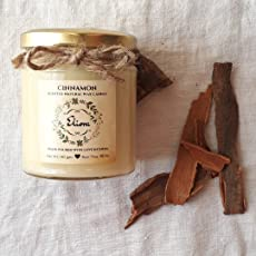 Cinnamon Scented Candle Made with Blended Natural Wax and fine Fragrance Oils for a Healthy and Clean Burn/Spice Candle/Kitchen Candle