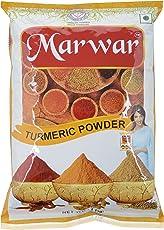 Marwar Premium Turmeric (Haldi) Powder, 1 kg (Agmark Grade)