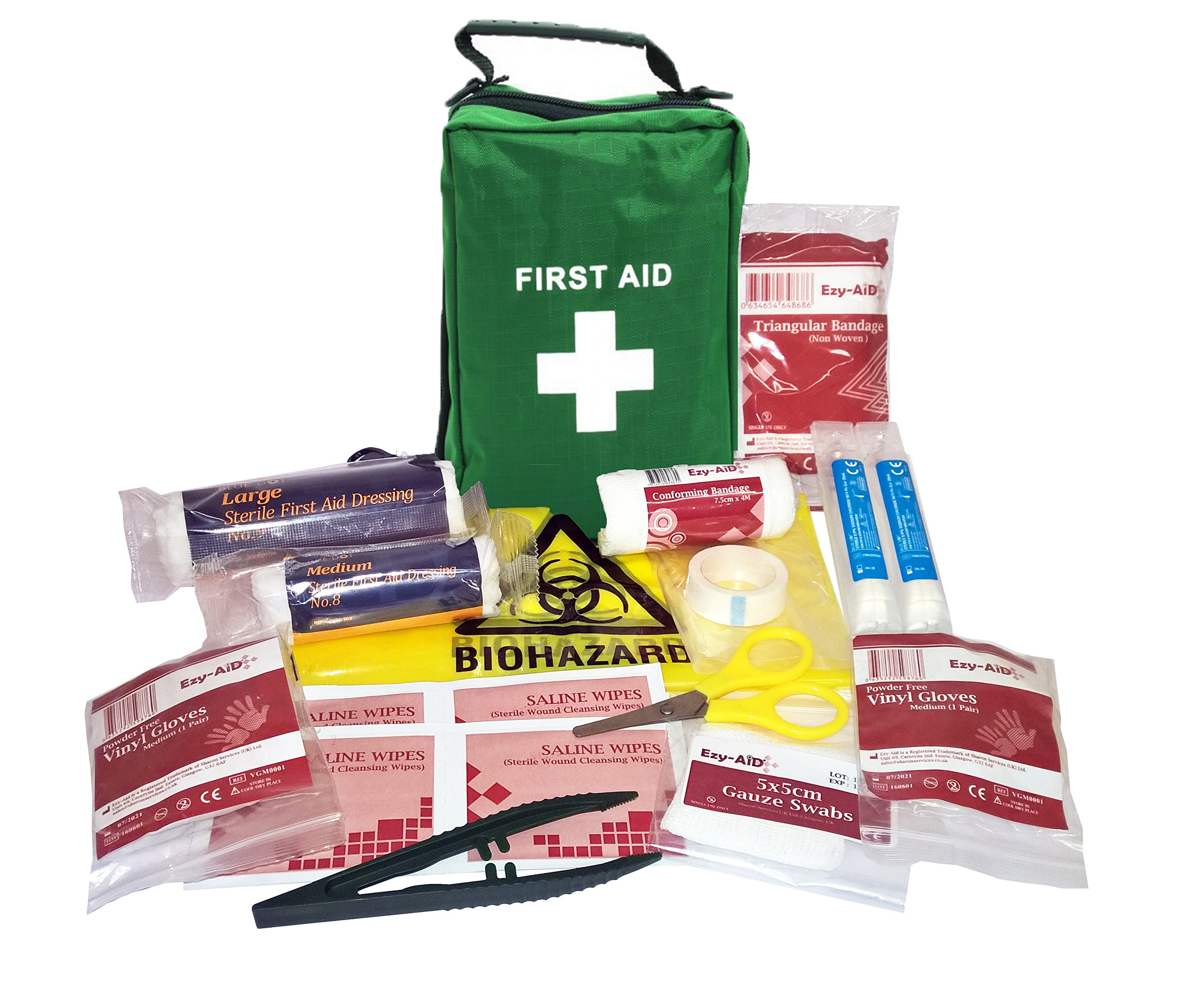 Pets Premium First Aid Kit in Green Bag 1