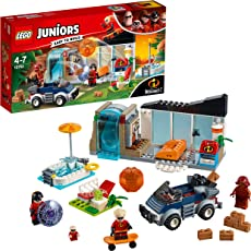 LEGO Juniors The Great Home Escape Building Blocks for Kids 4 to 7 Years (179 pcs) 10761