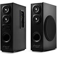 OBAGE DT-2425 Home Theaters Bluetooth Speakers Tower (Black) with Bluetooth 5.0,USB, Double Aux, FM,MMC