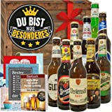 Du bist was Besonderes + Deutsche Bier Box + Geschenk du bist besonders