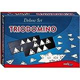 Noris 606104603 - Trio Domino, Deluxe Set