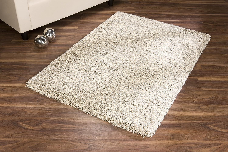 Flauschiger teppich  Twilight Hochflor Shaggy Teppich (69260 weiss, 160x230 cm): Amazon ...