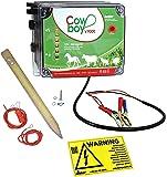 Koll Living Weidezaungerät Cowboy V9000-12 V - Extra Power : 10000 Volt - Unser stärkstes Batteriegerät Hütesicherheit inkl. Zubehörset