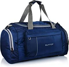 Suntop Alive Nylon 40 Ltr Oxford Blue Travel Duffles