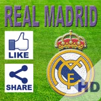Real Madrid Like & Share