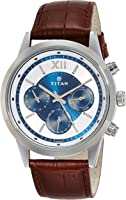 Titan Neo Analog Blue Dial Men's Watch - 1766SL03