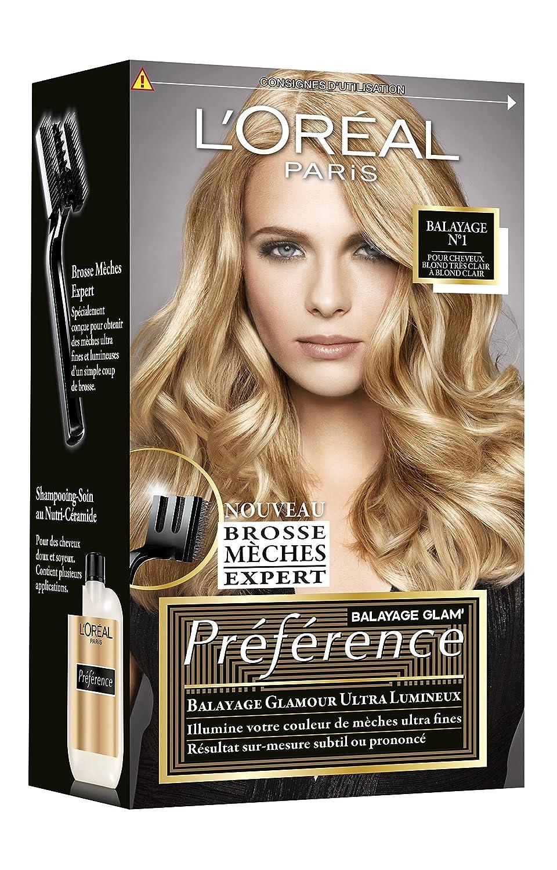 Exceptionnel L'OREAL - Coloration - Récital Préférence - Balayage Glam  TP02