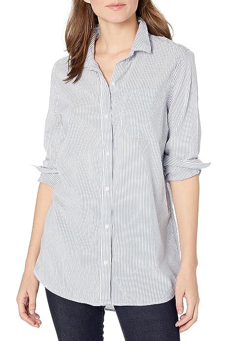Damen Corduroy Rundhals Long Arm Tops Shirts Cord Freizeit Herbst Bluse Blusen