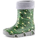 Ladeheid Botas de Agua Zapatos de Seguridad Calzado Unisex Niños Swk