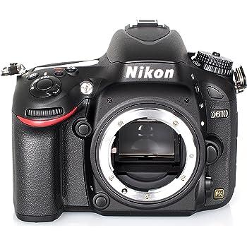 """Nikon D610 - Cámara réflex digital de 24.3 Mp (pantalla de 3.2""""), color negro - sólo cuerpo"""