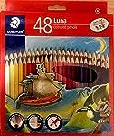 Staedtler Luna Coloured Pencil Set - Pack of 48