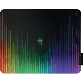 Razer Sphex V2 - Tappetino da Gioco Ultrasottile, Gaming Mousepad Progettato per Sensori Laser e Ottici & Nuovo Design Chroma