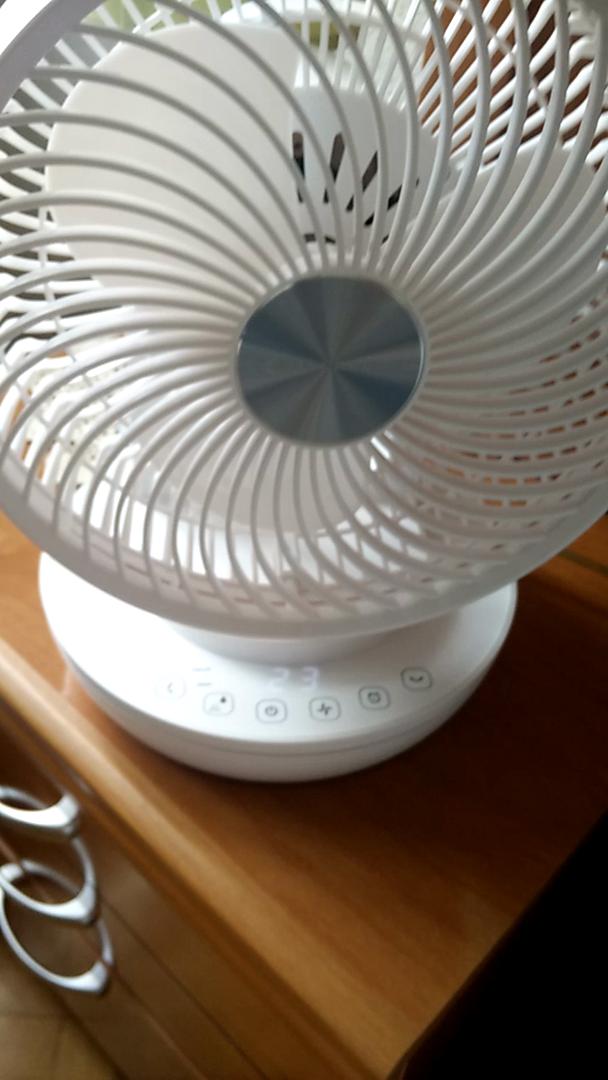 MYCARBON Ventilador Silencioso Ventilador de Mesa con Control ...