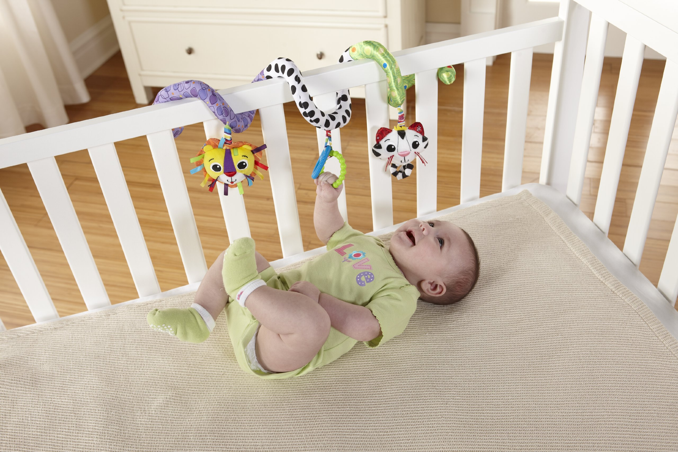 Lamaze Activity Spiral Clip On Pram and Pushchair Baby Toy 3