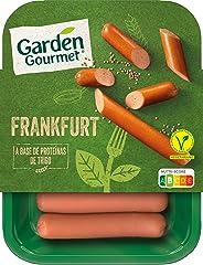 GARDEN GOURMET Salchichas Vegetarianas Refrigeradas, 180g
