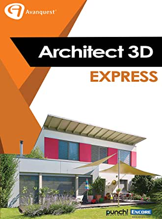 architekt 3d 2017 x9 express download software. Black Bedroom Furniture Sets. Home Design Ideas