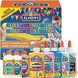 Elmer's Kit slime per le feste | La fornitura di slime include attivatori liquido magico per slime assortiti e colle liquide