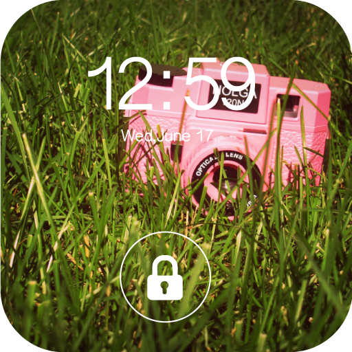 Hipster Lock Screen : Gangter Keypad Lock -