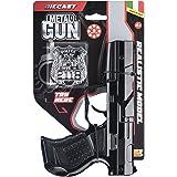 Villa Giocattoli-61240 Pistola in Metallo Squadra Speciale Try Me, Colore Nero, 61240