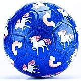 CubicFun Storlek 3 fotbollsgåvor för pojkar barn med handpump nätväska, små fotbollsträning bollar utomhusleksaker för 3 4 5