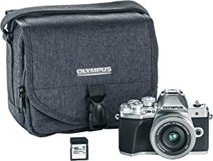 Olympus OMD EM10 Mark III Camera (Silver, V207072SU010)